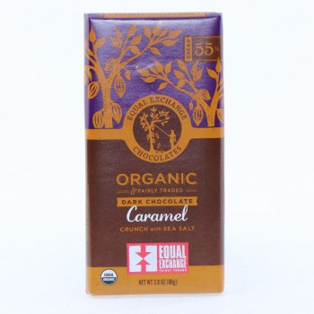 Ee Dark Caramel Chocolate Bar