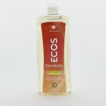 Ecos Dishmate Dish Liquid Grapefruit Scented 25 oz