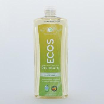 Ecos Hypoallergenic Dishmate Dish Soap Bamboo Lemon Scented 739 ml
