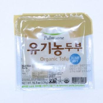 Pulmuone Organic Soft Tofu USDA Organic 15.5 oz