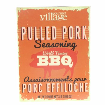 Go Vill Pulled Pork Seasonig