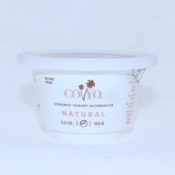 Coyo Coconut Yogurt Natural Live Cultures Non GMO Gluten Free No Added Sugar Vegan Gum Free 53 oz 5.3 oz