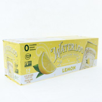 Waterloo Lemon Sparkling
