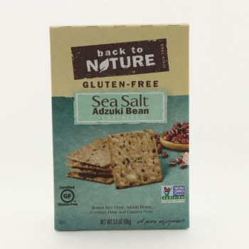 Back to Nature Gluten Free Adzuki Bean Crackers 3.5 oz
