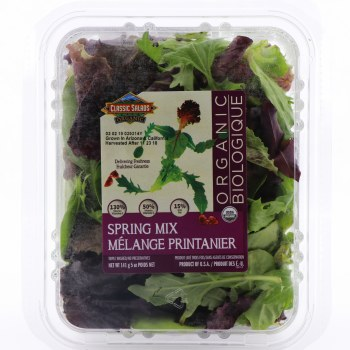 Classic Salads Organic Spring Mix  5 oz box