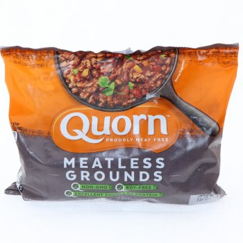 Quorn Meatless Grounds Non GMO Soy Free 12 oz