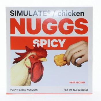 Nuggs Spicy Veggie Nugts