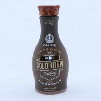 Califia, Mocha Cold Brew Coffee with Almond Milk, Dairy Free, Vegan, BPA Free, Carrageenan Free, Kosher, Gluten Free, Non GMO 48 oz