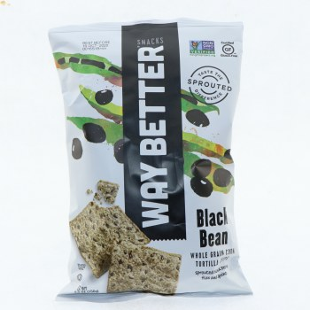 Way Better Black Bean Tortilla Chips 5.5 oz