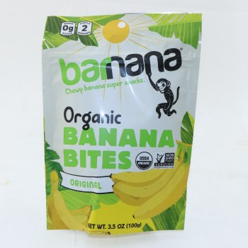 Barnana Original Banana Bites