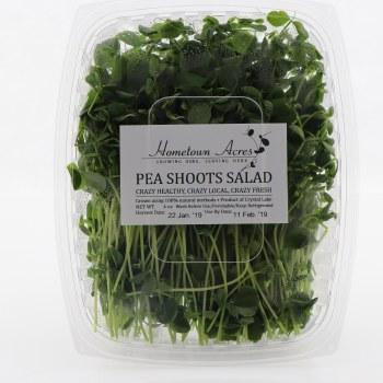 Hometown Acres Pea Shoots Salad  4 oz box
