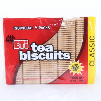 Eti Classic Tea Biscuits, & 1000g 35.27 oz