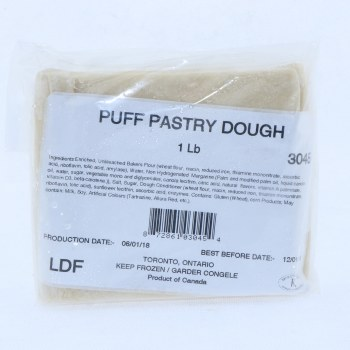 Puff Pastry Dough Square
