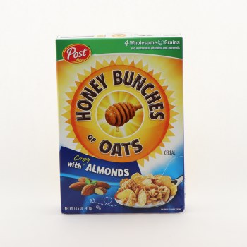Post Honey Bunches Of Oats With Almonds 14.5 oz