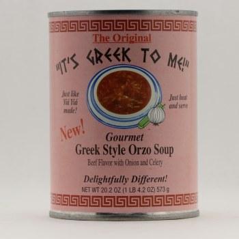 It's Greek Beef flavor 20.2 oz each