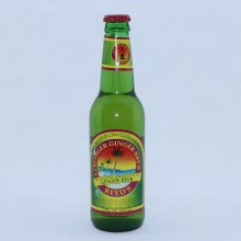 Reed's Stronger Ginger Brew, Gluten Free, Caffeine Free, No Preservatives, Non Alcoholic, 12 FL oz 12 fl