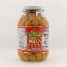 El Gallito Nance in syrup 32 oz