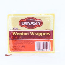 Dynasty Wonton Wrappers
