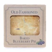 Old Fashioned Baked Blueberry Pie  4 oz each
