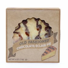 Old Fashioned Chocolate Eclair Pie, 4oz 4 oz