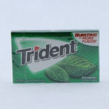 Trident Spearmint Gum, Sugar Free Gum with Xylitol 14 ct