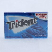 Trident Original Gum, Sugar Free Gum with Xylitol  14 ct