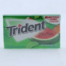Trident Watermelon Twist Gum, Sugar Free Gum with Xylitol 14 pc
