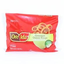 Ore-Ida Oregano  and  Idaho Gourmet Onion Rings 16 oz