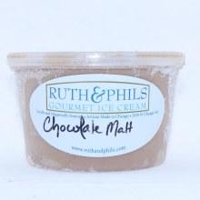 Ruth & Phils Gourmet Ice Cream Chocolate Malt.