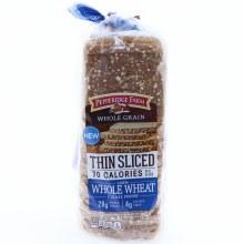 Pepperidge Farm Whole Wheat thin Sliced Bread 22 oz