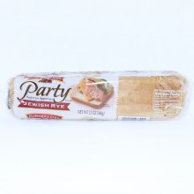Pepperidge Farm Jewish Rye Party Bread in Slices Perfect for Appetizers  12 oz