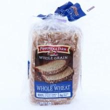 Pepperidge Farm 100Per Cent Whole Wheat Bread  24 oz