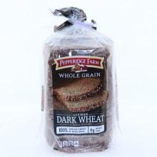 Pepperidge Farm Whole Grain German Dark Wheat Bread  24 oz