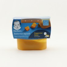 Gerber Butternut Squash NON GMO  and  2 packs of 2oz 4 oz