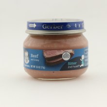 Gerber Beef  and  Gravy Sitter 2nd Foods 2.5 oz