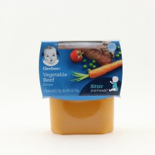 Gerber Ns Vegetable Beef