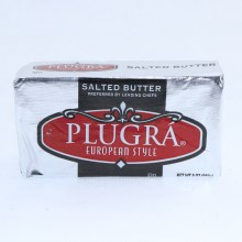 Plugra European Style Salted Butter.  8 oz
