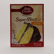 Betty Crocker Yellow Cake Mix 15.25 oz