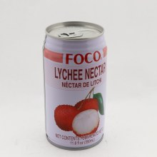 Foco Lychee Nectar Contains 25Per Cent Juice