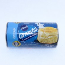 Pillsbury Grands! Buttermilk Southern Homestyle BIg Biscuits. No Colors From Artificial Sources. No High Fructose Corn Syrup.  16.3 oz