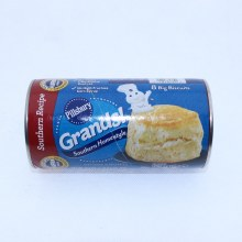 Pillsbury Grands! Southern Recipe Southern Homestyle Big Biscuits. No Colors From Artificial Sources. No High Fructose Corn Syrup.  16.3 oz