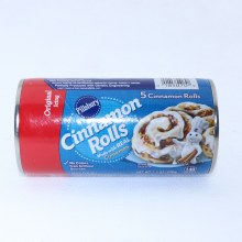 Pillsbury Cinnamon Rolls. Origional Icing. Made with Real Cinnomon. No Colors from Artificial Sources.  7.3 oz
