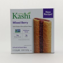 Kashi Mixed Berry Bars, NON GMO, Wild Flower HOney, 11g Whole Grains, & 3g Fiber  7.2 oz