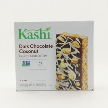 Kashi Dark Chocolate Coconut Layered Granola Bars NON GMO 4g Fiber