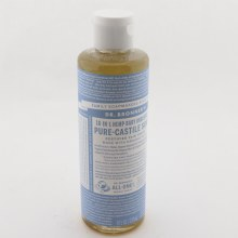 Dr. Bronners 18 In 1 Hemp Baby Unscented Pure Castile Soap