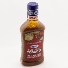 Kraft Sweet & Tangy Sun Dried Tomato Vinaigrette, No Artificial Flavors, No High Fructose Corn Syrup, No Synthetic Colors 14 oz