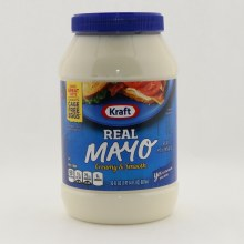 Kraft Real Mayo Creamy Smooth Mayonnaise Made with Cage Free Eggs Real Ingredients