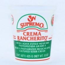 V&V Crema Rancherito, 15oz.  15 oz