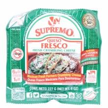V&V Supremo Queso Fresco Fresh Crumbling Cheese  8oz.