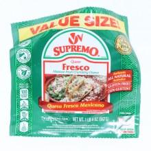 VV Supremo Queso Fresco Fresh Mexican Crumbling Cheese  20oz  20 oz
